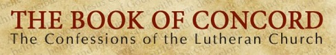Book of Concord website